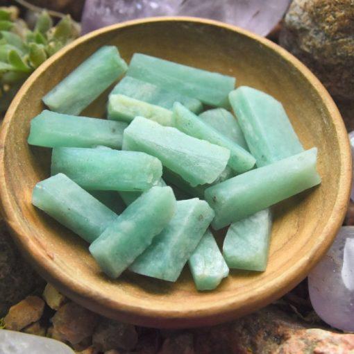 Blue Amazonite Crystal Raw Stone gemstone Beads Sale