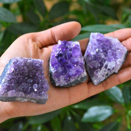 Purple Amethyst Clusters Bulk Crystals For Sale