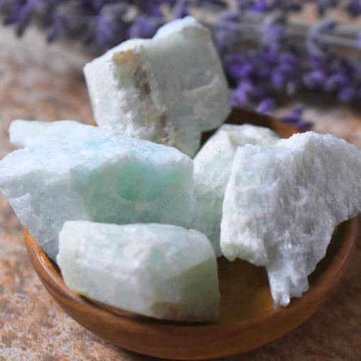 Rough Raw Aquamarine Genuine Gemstone Raw Crystal Wholesale Sale