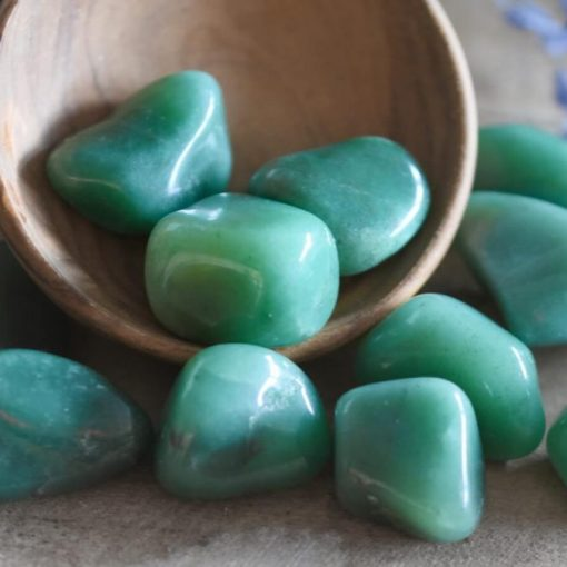 Bulk Green Aventurine Crystal Tumbled Stones Free Shipping Best Crystals Wholesale