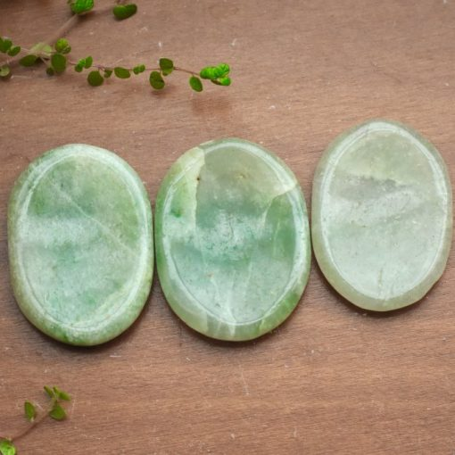 Wholesale Green Aventurine Worry Stone Bulk Sale