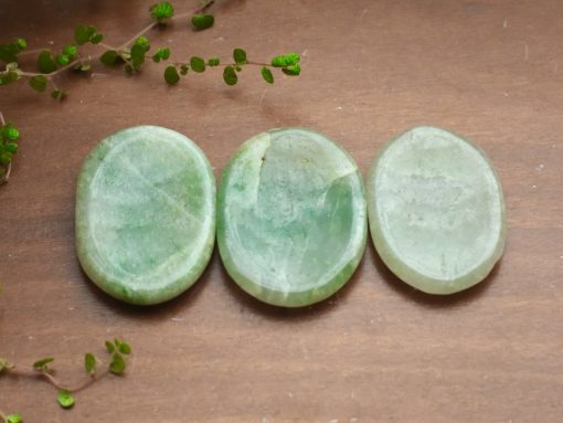 Wholesale Green Aventurine Worry Stone Meditation Healing Crystal Good Luck Crystals Sale