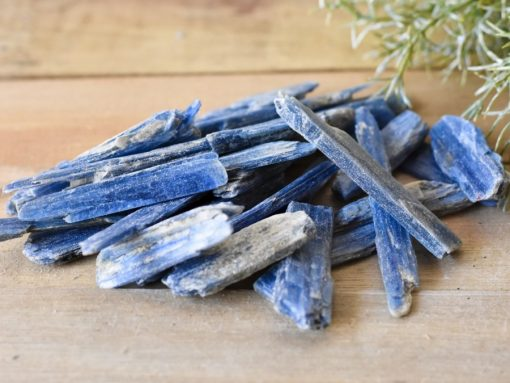 Rough Raw Kyanite Blades Natural Blue Kyanite Crystal