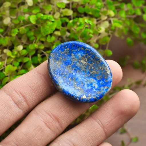 Natural Lapis Lazuli Meaning Lapis Worry Stone Good For Wisdom And Enlightenment Healing Crystal