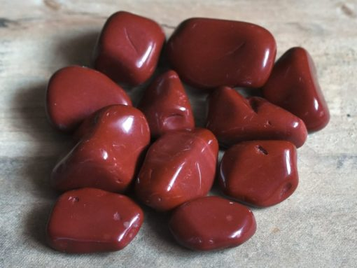 African Red Brecciated Jasper Tumbled Stone Healing Crystal Meaning And Uses Sale