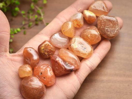 Bulk Red Carnelian Crystals Tumbled Stone Sale