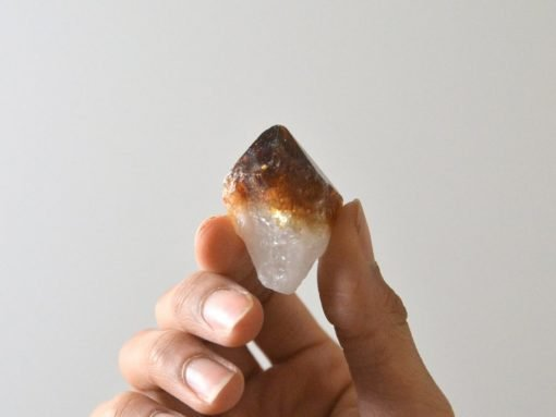 Real Citrine Is Harder Than Heat Treated Citrine And Have Pale Yellow Color Usually