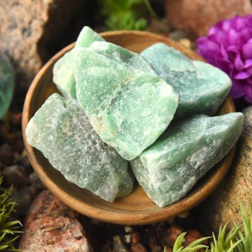 Use Raw Green Aventurine Crystal For Good Luck And New Job Gift