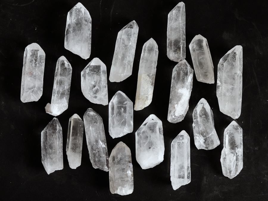 Raw Quartz Crystal Point Long Quartz Points Clear Crystal Raw Stones