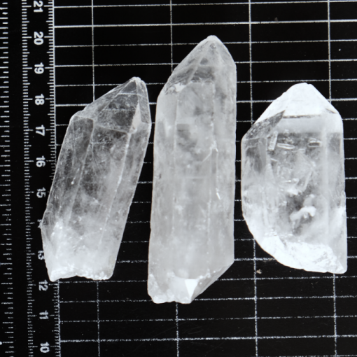 Large Quartz Crystal Points Very Transparent And Clear