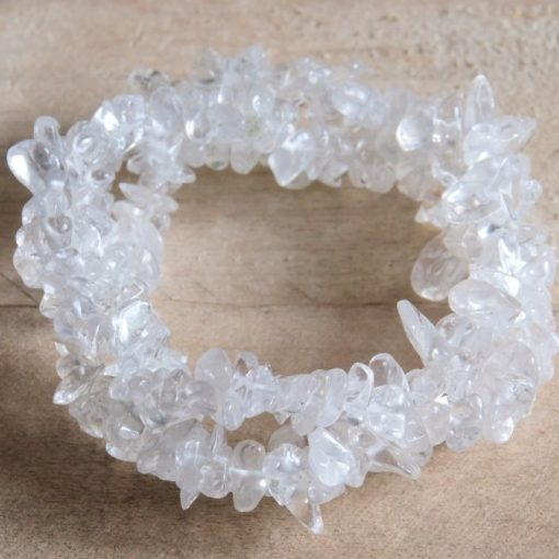 Women's Jewelry Gift Clear Quartz Crystal Bracelet Stretch Bracelet Jewelry Gift Sale