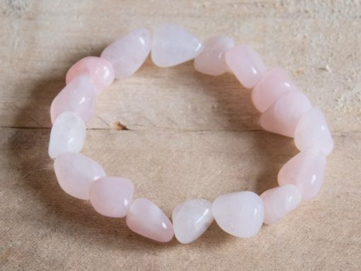Rose Quartz Crystal Pink Birthday Gift For Friend And Mom