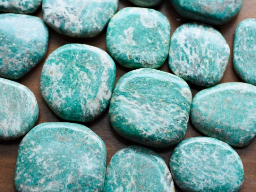 Natural Blue Amazonite Healing Crystals Meaning And Properties