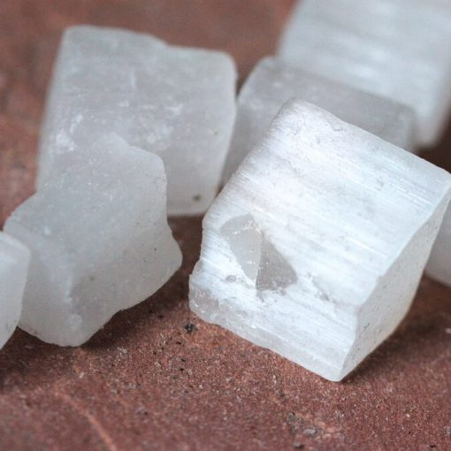 Raw Selenite Crystal Is Good For Cleansing And Purification