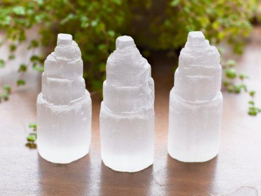 Bulk Selenite Crystal Rough Raw Selenite Healing Stone Good For Detoxification And Purification HEaling Energy Stone