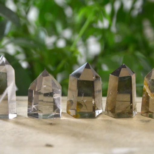 Clear Smoky Quartz Crystal Tower Smokey Quartz Crystal Point Sale