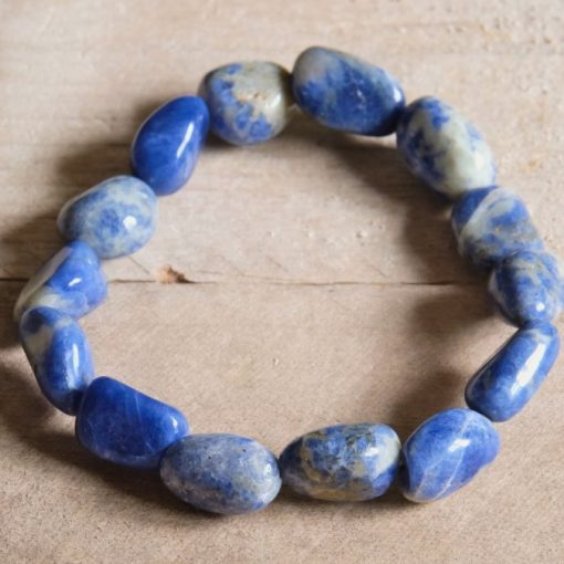Tumbled Sodalite Stone Nuggets Yoga Meditation Jewelry Gift