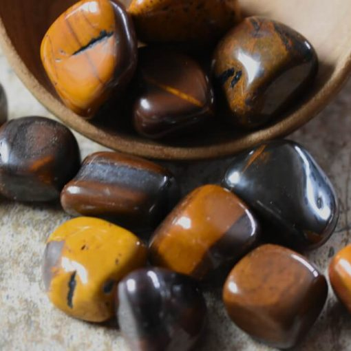 Wholesale Desert Jasper Sunset Jasper Crystal Tumbled Stone Wholesale