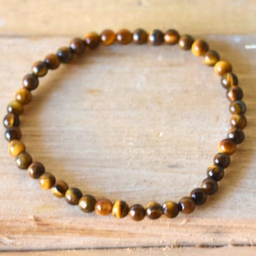 Natural Golden Tiger's Eye Crystal Healing Jewelry Bracelet Gift Ideas For Mom