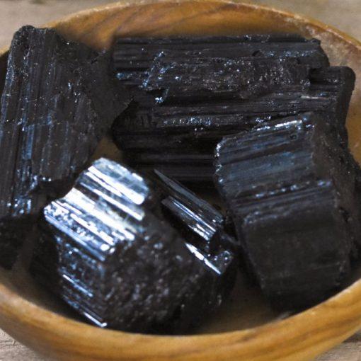Natural Black Tourmaline Crystal Rough Raw Tourmaline Stone