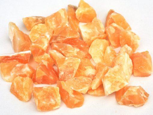 Raw Yellow Calcite Rough Stone Unpolished Rock
