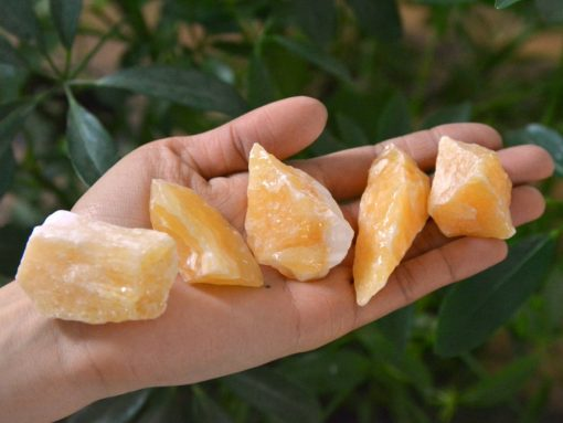 Yellow Calcite Crystal Is The Stone Of Confidence And Hope