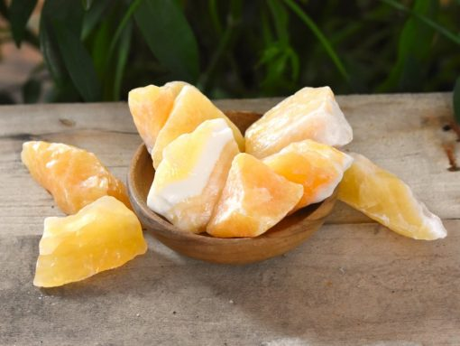 Yellow Calcite Represents Good Luck And Prosperity