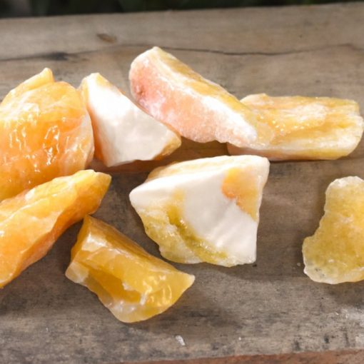 Yellow Calcite Stone Represents Positive Energy And Emotional Strength