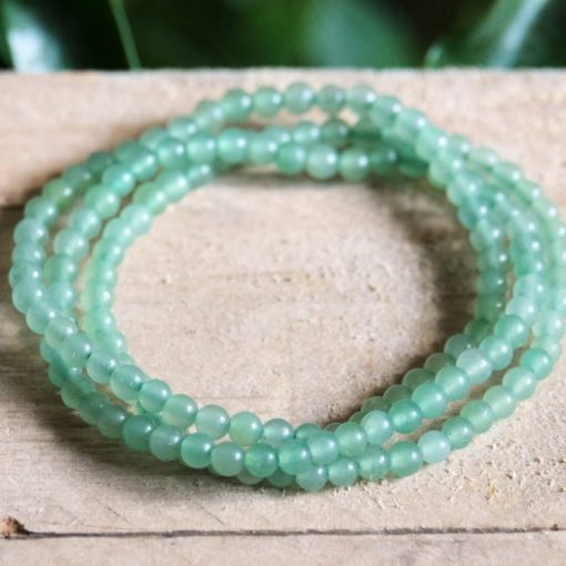 Green Aventurine Bracelet Lucky Stone For Prosperity Healing Crystals Bracelets For Sale