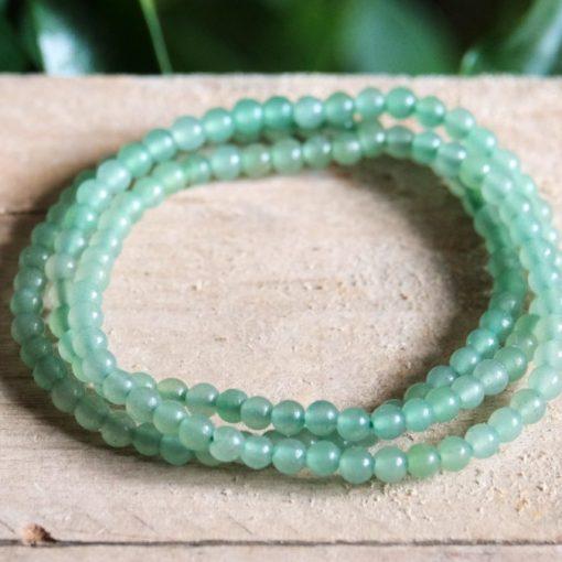 Lucky Charm Bracelet For Sale Green Aventurine Lucky Stone Prosperity Power Crystal Gift Sale