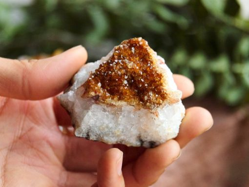 Heat Treated Citrine Crystal Cluster Bulk Citrine Crystals Sale