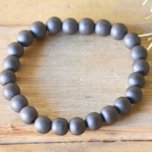 Hematite Bracelet Men's Jewelry Gift Protection Crystal | Discover Hematite Crystal Metaphysical Properties And Uses At Best Crystals Wholesale