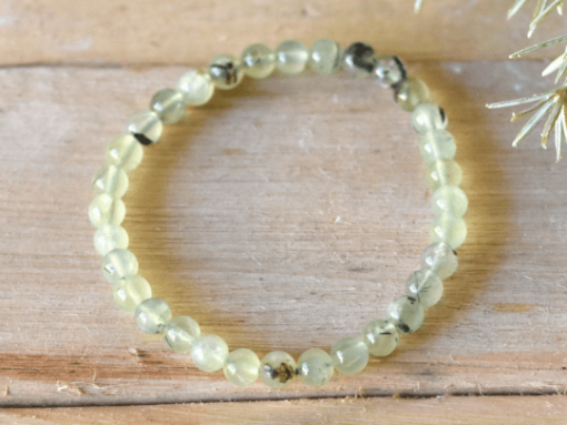 Learn Green Prehnite Stone Meaning And Properties | Prehnite Tumbled Stone Beads