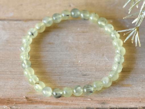 Natural Prehnite Stone Bead Jewelry Gift Sale