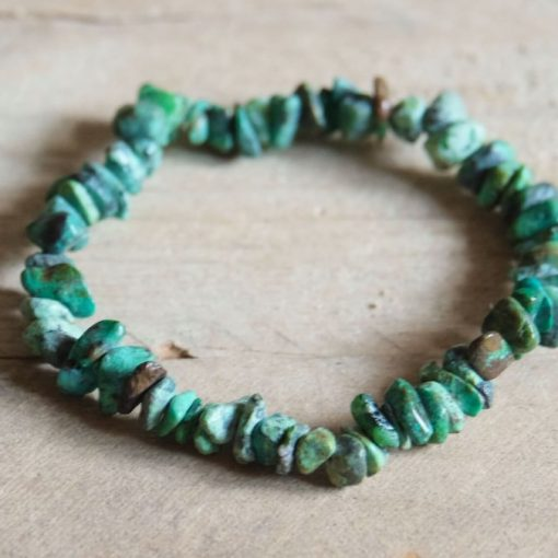 African Turquoise Stone Chip Yoga Bracelet Sale