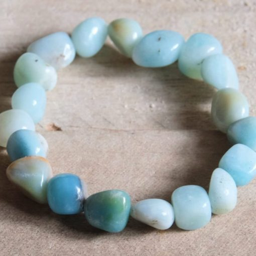 Tumbled Amazonite Crystal Bracelet Gift Sale