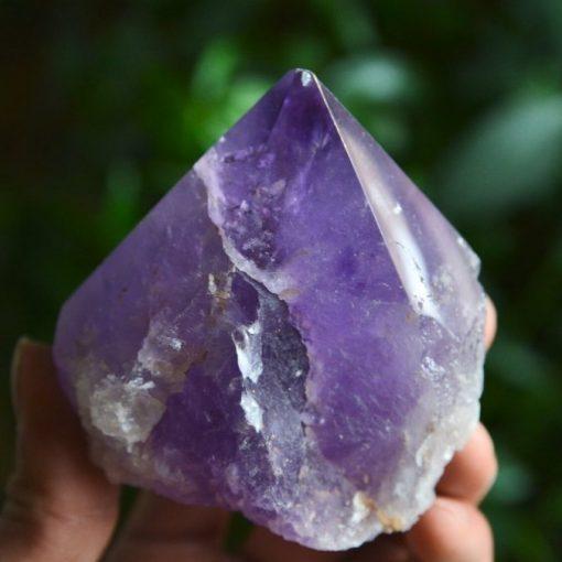 Amethyst Polished Crystal Point Raw Amethyst Bolivian Sale
