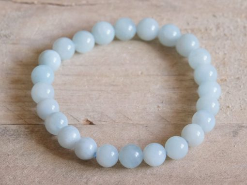 Pisces Zodiac Gift Aquamarine Bracelet Sale