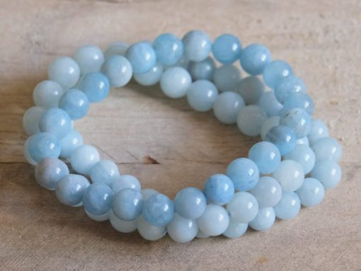 Aquamarine Crystal Bracelet Sale