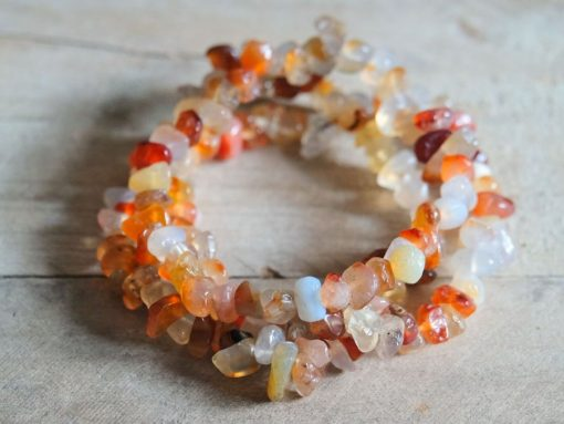 Red Carnelian Bracelet Natural Carnelian Gemstone Healing Crystal Jewelry Sale