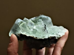 Green Fluorite Cubic Crystal Cluster Specimen Natural Green Fluorite Crystals | Best Crystals Wholesale