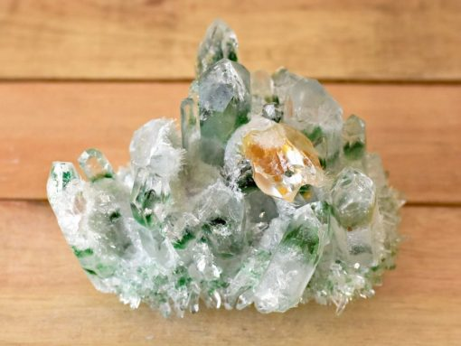 Green Phantom Quartz Cluster From Tibet Healing Crystal Properties Tibetan Green Ghost Quartz Cluster With Genuine Citrine Crystal Point In Matrix Green Quartz Crystal Cluster Specimen For Sale At Best Crystals Wholesale