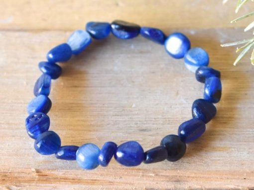 Blue Kyanite Crystal Bracelet | Blue Kyanite Crystal Meaning And Properties