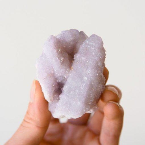 Spirit Cactus Quartz Crystal Cluster Natural Amethyst Cactus Quartz Crystal | Lilac Amethyst Spirit Quartz Crystals Fairy Quartz Specimen