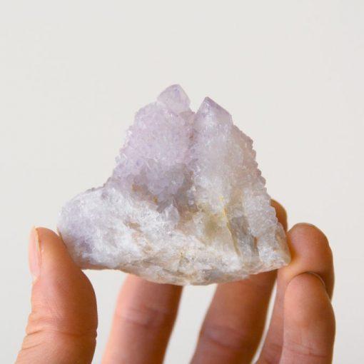 Spirit Quartz Crystal Lavender Amethyst Cactus Quartz Crystal   Lilac Spirit Quartz Crystals Fairy Quartz Specimen   Spirit Quartz Meaning At Best Crystals Wholesale
