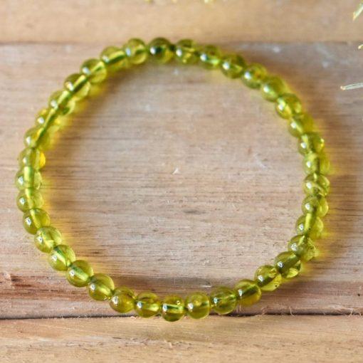 Women's Jewelry Green Peridot Bracelet Gift