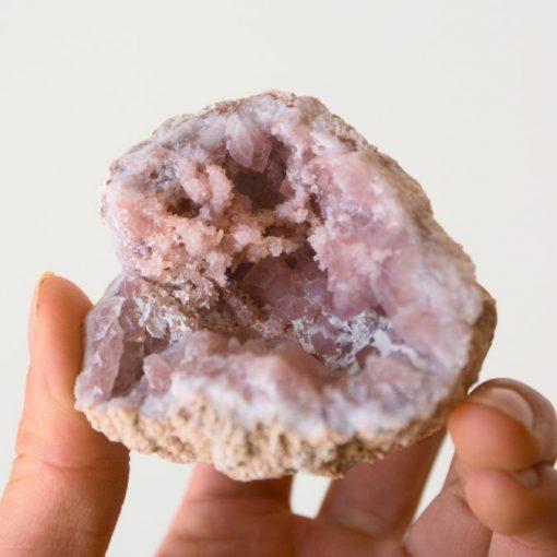 Patagonia Pink Amethyst Geode Specimen Raw Pink Amethyst Druzy Crystal Cluster | Best Crystals Wholesale