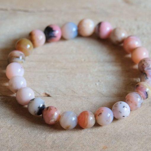 Genuine Opal Peruvian Pink Opal Bracelet Sale