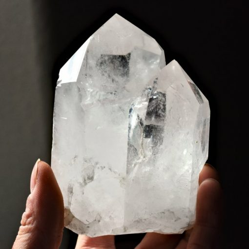 LARGE Quartz Crystal Point AAA+ Specimen Clear Quartz Crystal Raw Quartz Point
