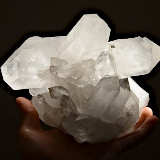 Large Quartz Crystal Cluster Clear Quartz Specimen Unique Quartz Rare Crystal Cluster For Sale